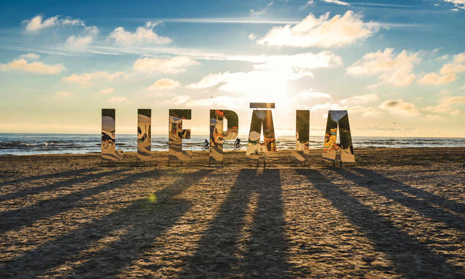 Город лиепая латвия фото пляжа