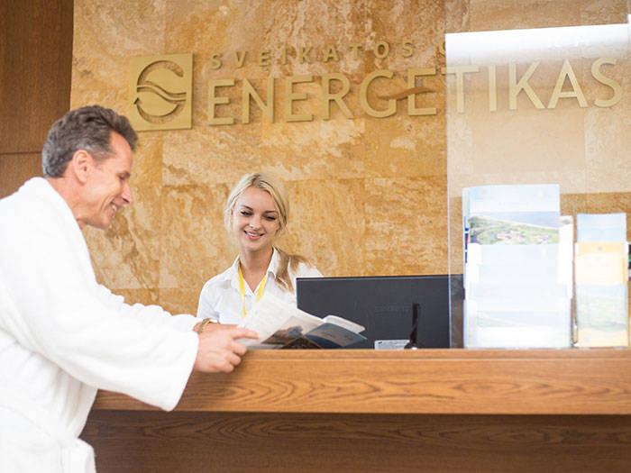 """Veselības centrs """"ENERGETIKAS"""" - Viesnīcas Palangā"""