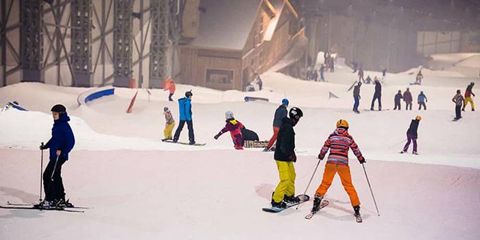 """Jautrs piedzīvojums """"Snow Arena"""" Druskininkos"""