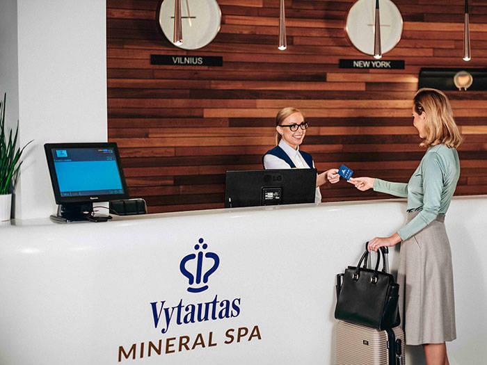 Vytautas Mineral SPA - Отели в Бирштонасе