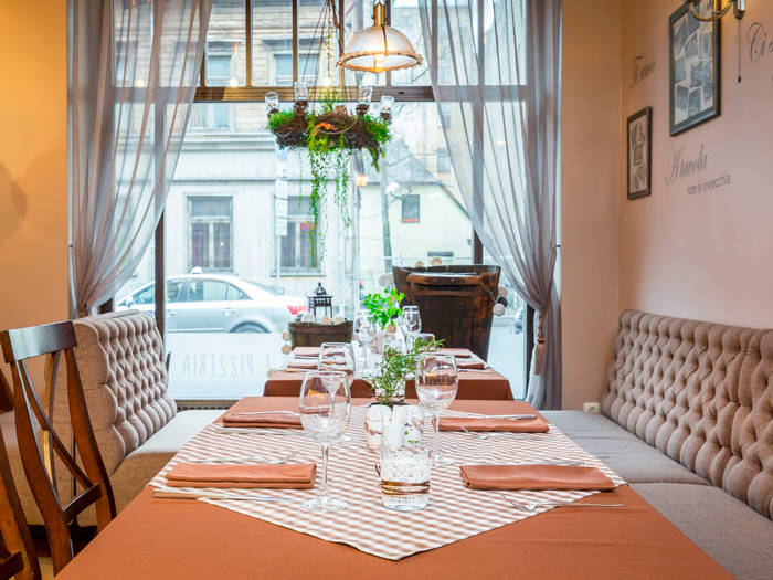 """Ресторан """"Da Roberta"""" - Отели в Риге"""