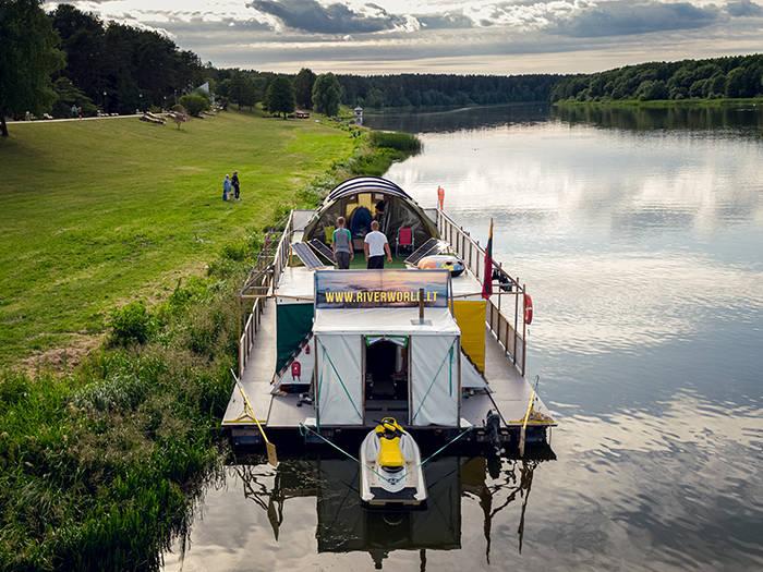 RiverWorld, плот NEMO - Отели в Друскининкае
