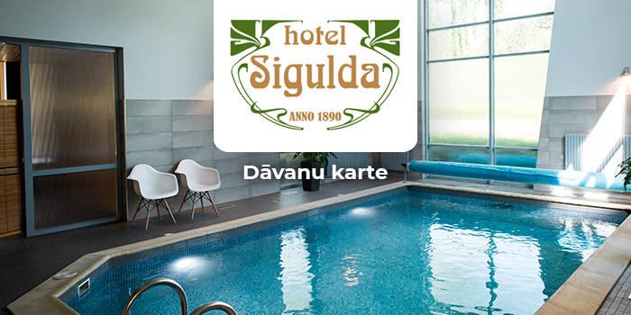 """""""Hotel Sigulda"""" DĀVANU KARTE"""