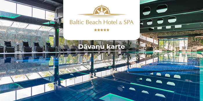 """Baltic Beach Hotel & SPA"" DĀVANU KARTE"
